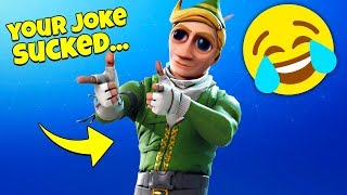THE BEST JOKE GETS THE TURRET In Fortnite Random Fill!