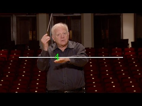 Lesson Two: The Basic 4 Pattern, Leonard Slatkin's Conducting School