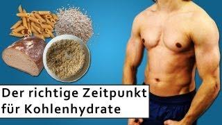 Wann Kohlenhydrate essen um Masse aufzubauen oder Fett zu reduzieren?