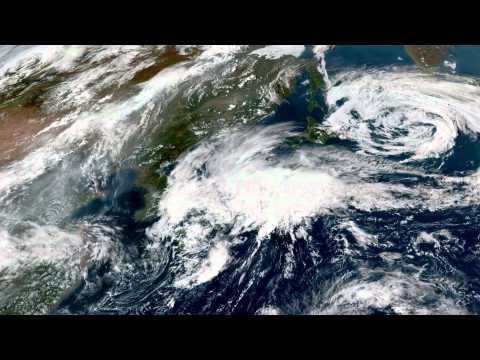 Earth From Space - Sep 17, 2015: Japan, Korea, Beijing & Shanghai