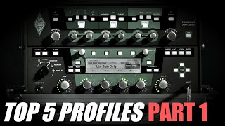 Kemper Profiler | My Top 5 Profiles (Right Now 2019)