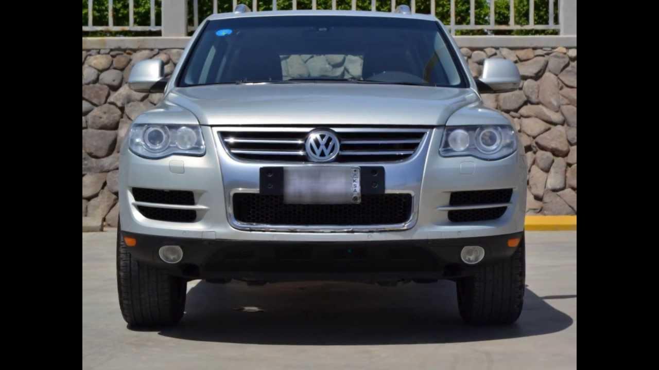 Vw Touareq 2008 V6 3 6 L 164xxx Km Youtube