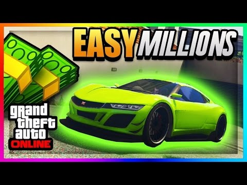 GTA 5 Online: How to make money FAST!! Modded jobs, RP grind, preparing for finance and felony.