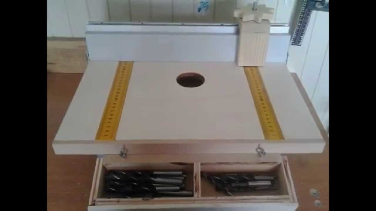 Drill table mesa para soporte de taladro youtube - Taladro de mesa ...