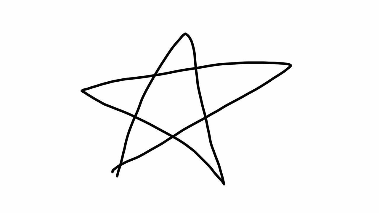 How To Draw A Star Easy Simple Way Drawing Tutorial Subscribe