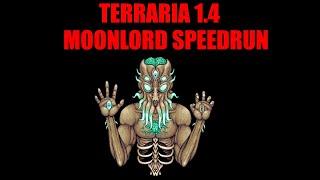 Terraria 1.4 Moonlord Speedrun | 57 Minutes World Record
