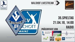 35.Spieltag: SV Waldhof - TSV Schott Mainz (Radio)