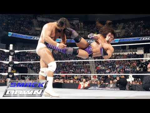 Neville vs. Bo Dallas: SmackDown, May 14, 2015