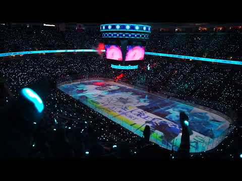 San Jose Sharks v. Vegas Golden Knights Game 4 intro