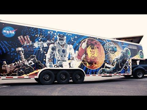 Trailer Wrap for NASA's Robotics Alliance Project