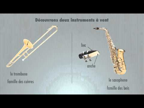 Saxophone et trombone