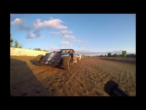 Brayton Skaggs Rear Bumper View MWM Heats Nevada Speedway 06/03/18