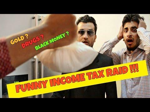Funny Income Tax Raid in India l #AcheDin l The Baigan Vines