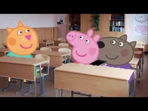Школьница описалась на уроке видео