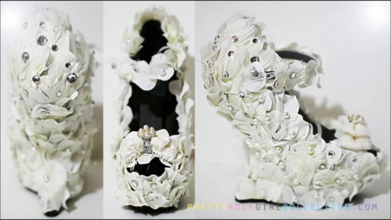 5279b4dd1 اكبر تشكيلة احذية جزم للعرائس عروس 2016 - YouTube