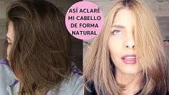 CON ESTAS MASCARILLAS ACLARÉ MI CABELLO (RUBIO NATURAL) | VIDEO ESPECIAL MODO MAYA