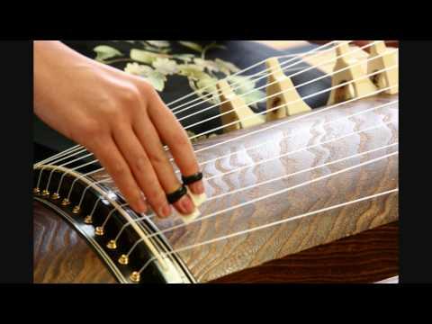 SAKURA SAKURA  Koto traditional Japanese instrument