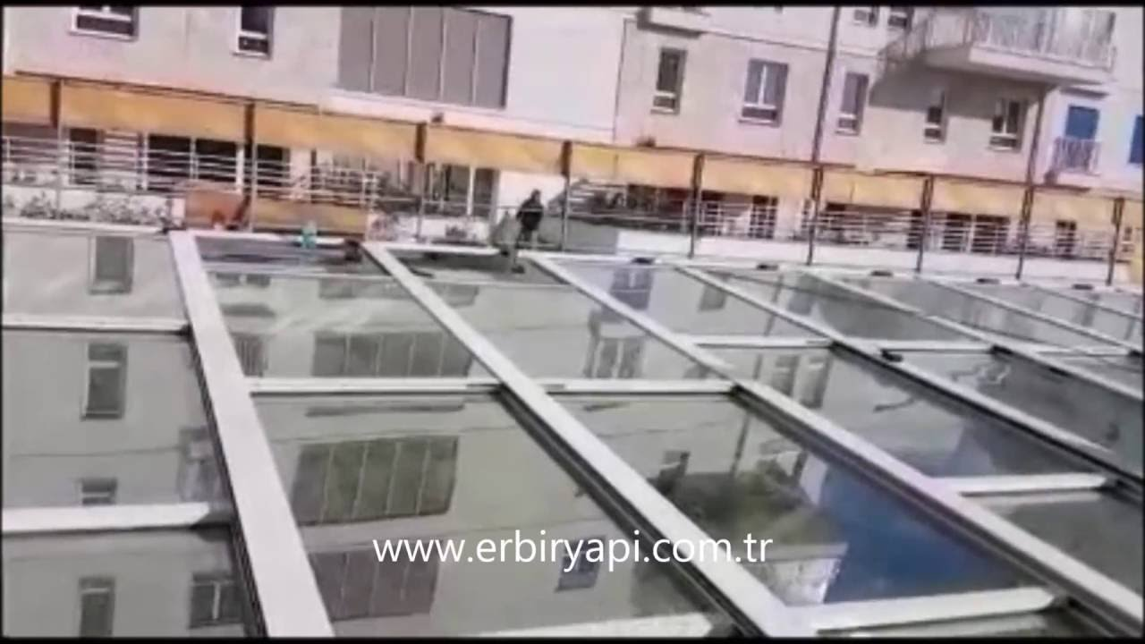 ERBİR YAPI, Sliding Glass Roof  Retractable Glass Roof   Retractable Roof