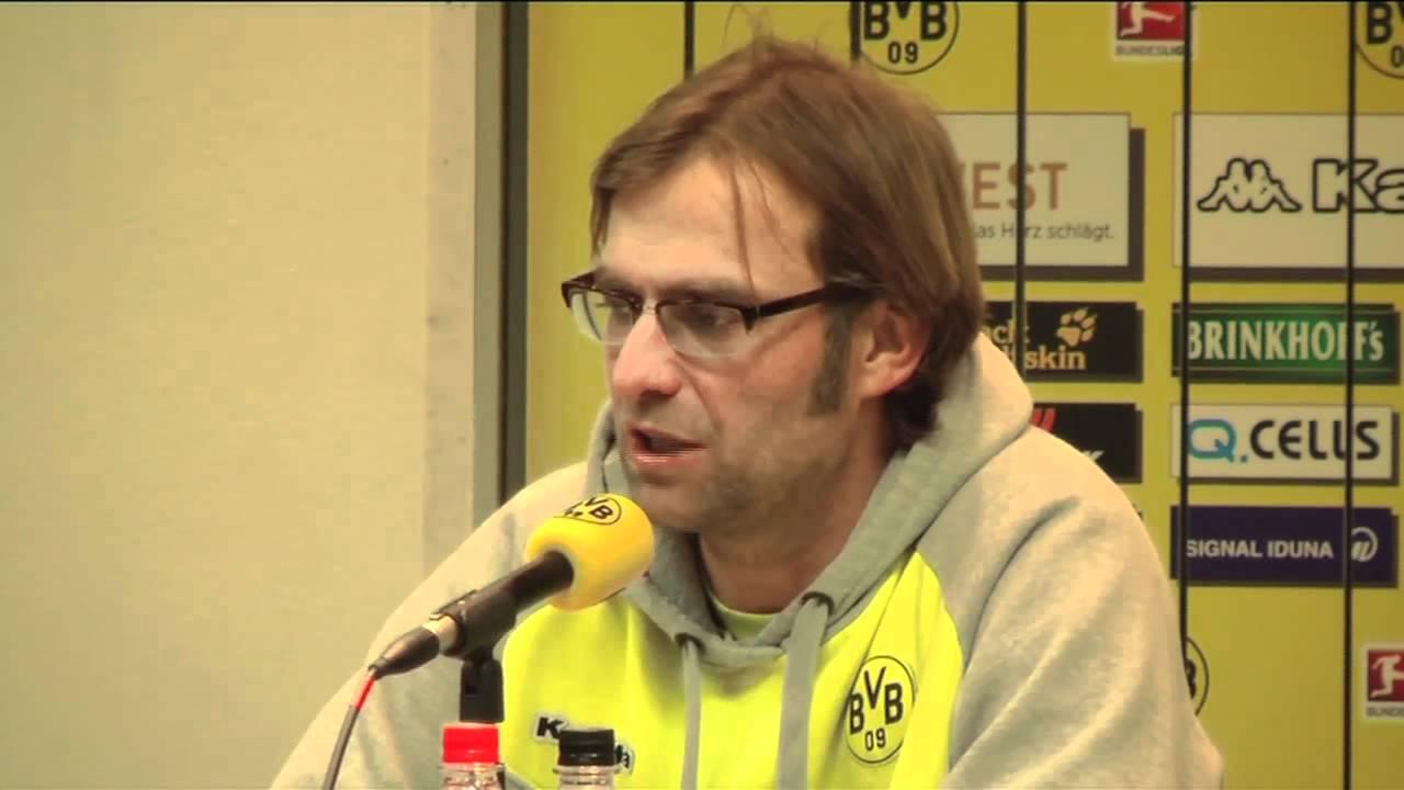 Pressekonferenz Borussia Dortmund - FSV Mainz 05 03.03.12