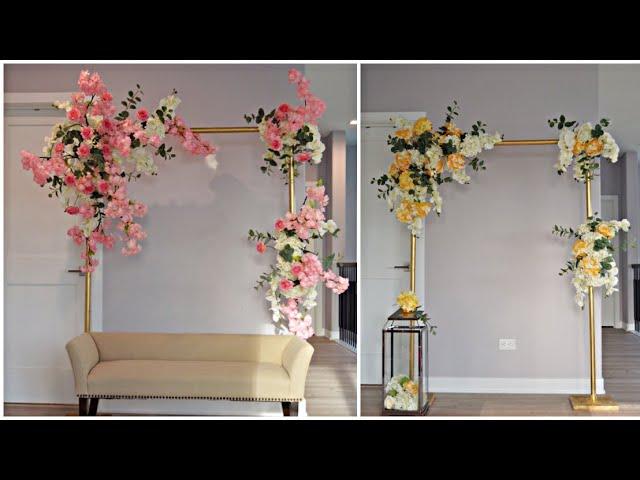 DIY-Quick backdrop decor Diy- Wedding Decor