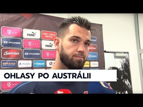 """Česká republika """"A"""" - Austrálie """"A"""" (Rakousko, 1. 6. 2018)"""