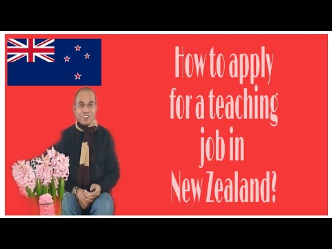 How To Apply For A Teaching Job In New Zealand?