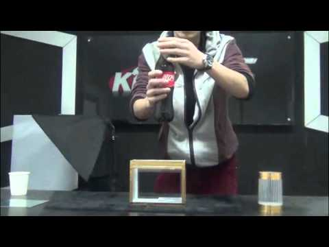 FOR MAGICIANS ONLY ! HOW TO DO - Zig Zag Coca Cola Bottle Delux - Magic Trick
