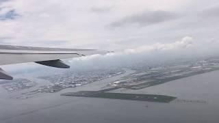 ANA663便 羽田空港発 長崎空港行き 離陸動画 (777-200) thumbnail