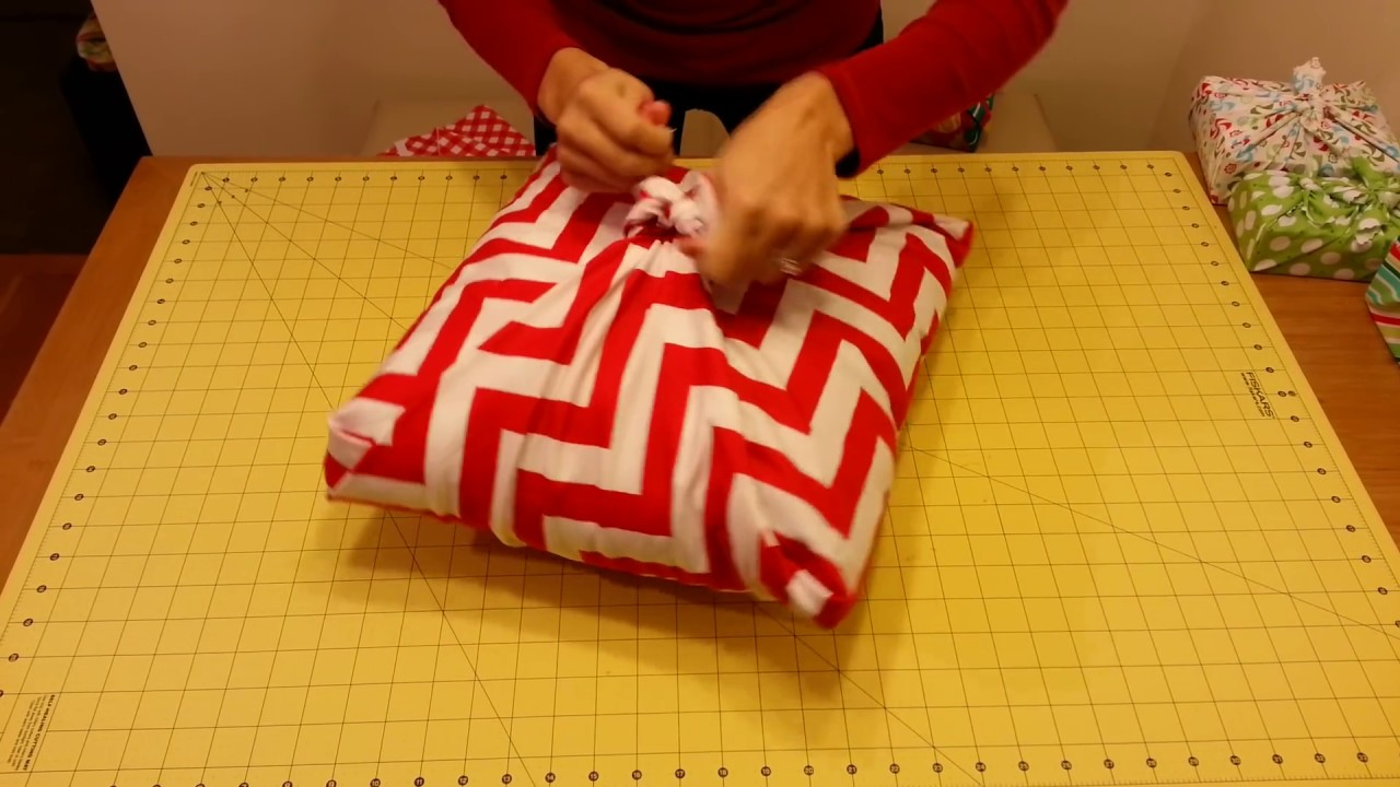 Fabric wrapping no sew pillow sham youtube - Fabric for throw pillows ...