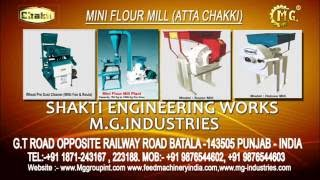 Mini Flour Mill without stone  (Atta Chakki)