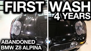 First Wash in 4 Years BMW Z8 Alpina 1/555 Ever Made!