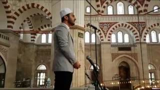 Avrupa ezan-ı güzel okuma yarışma 1.si Harun Bilgiç Şehzadebaşı Camii Kamet