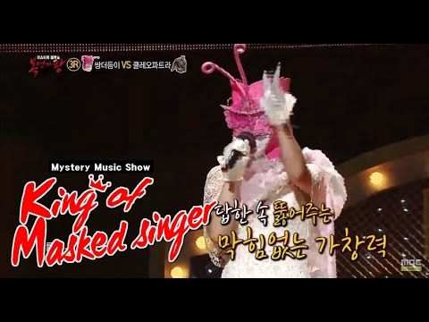 [King of masked singer] 복면가왕 - high frequency pair feelers 'Ailee' - bruise 에일리 - 멍 20150524