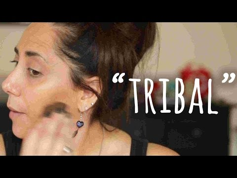 'Authentic' Native American Makeup Tutorial