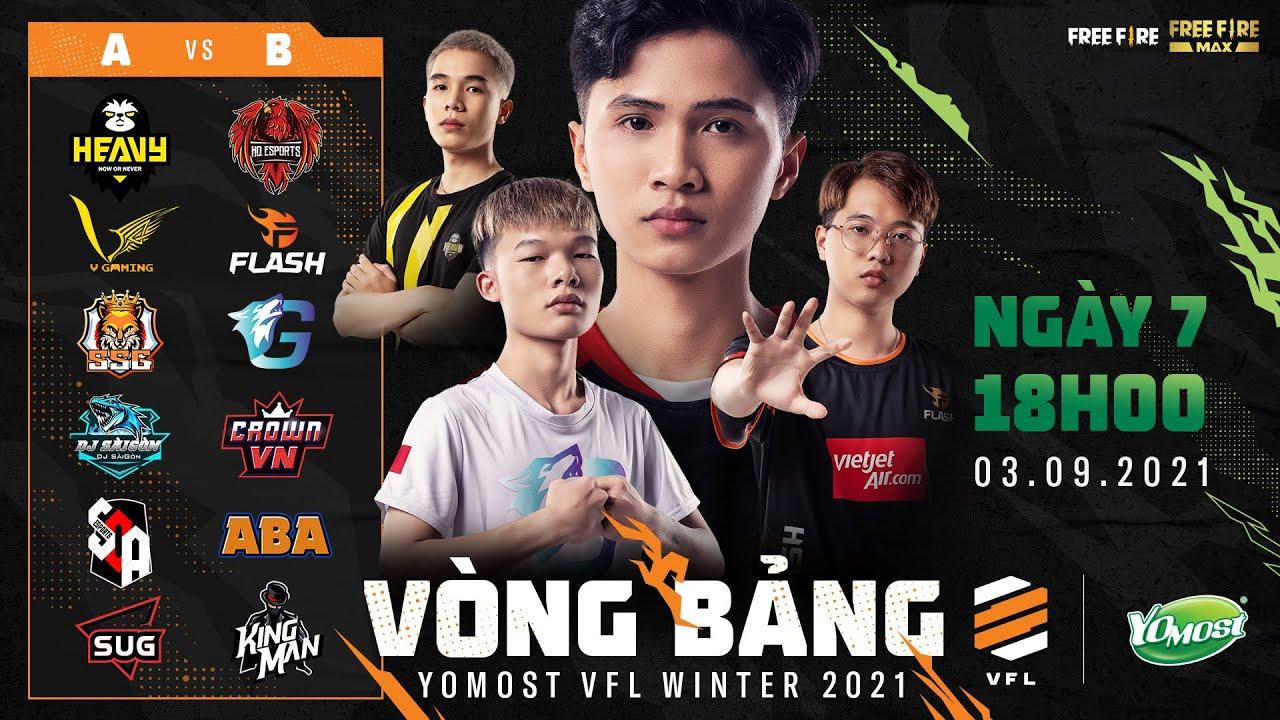 Yomost VFL Winter 2021 [Ngày 7] Cuộc rượt đuổi gay cấn của HQ Esports và Team Flash trên BXH!