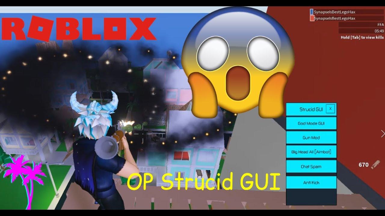 Strucid Op Roblox Hack Script God Mode Gun Mod Aimbot And
