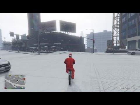Grand Theft Auto V BMX Wheelie