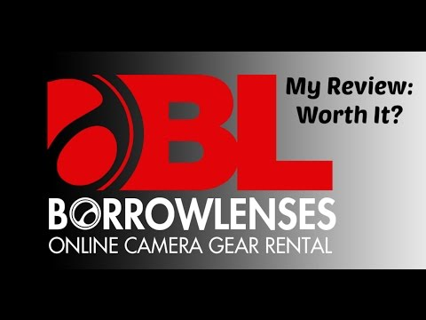 BorrowLenses Camera Rental Review/First Impressions In 2016
