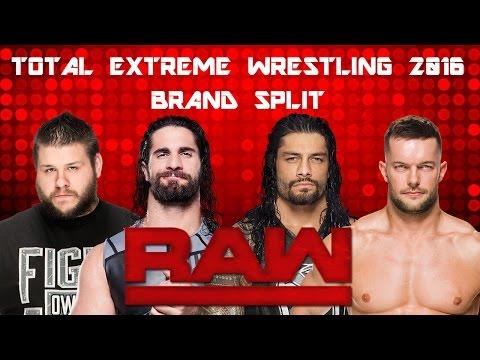 TEW 2016 - WWE Brand Split RAW - Part 1