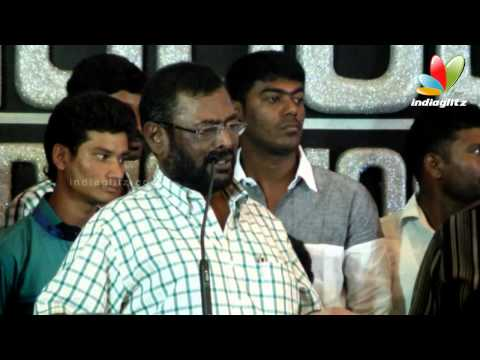 Manivannan : Sathyaraj and myself are like Husband & Wife | Nagaraja Cholan Audio Launch