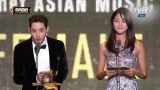 161202 TAEYEON 태연 (SNSD 소녀시대) Best Female Artist - Mnet Asian Music Awards - MAMA 2016