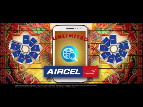 Aircel Limit se zyada online, Hindi TVC 60sec.