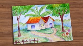 How To Draw Landscape 04 || Draw For Kids