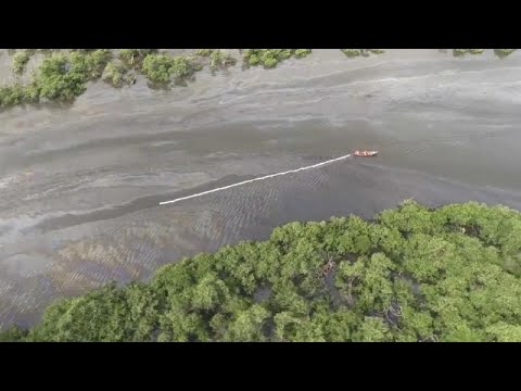 Tentativa de roubo provoca derrame de petróleo no Brasil