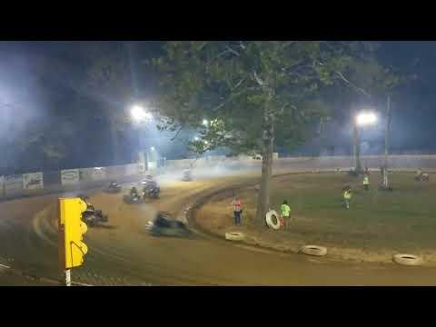 Mike Kalman - Shellhammers Speedway Dual Heat 1 - 9/27/17
