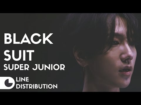 Super Junior - Black Suit | Line Distribution