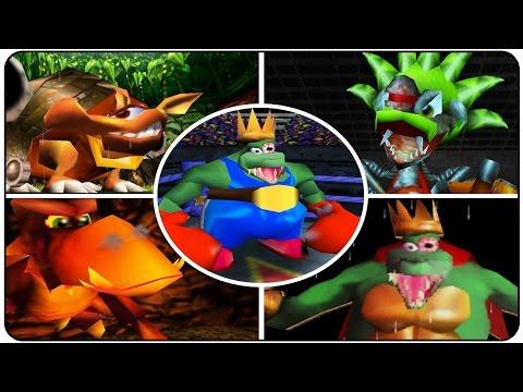 Donkey Kong 64 - All Bosses