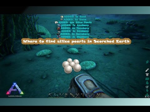 where to find silica pearls location in Scorched Earth   YouTube