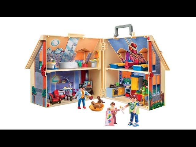 Przeno?ny Domek dla lalek Playmobil 5167 - recenzja PoszukiwaczeFrajdy.pl