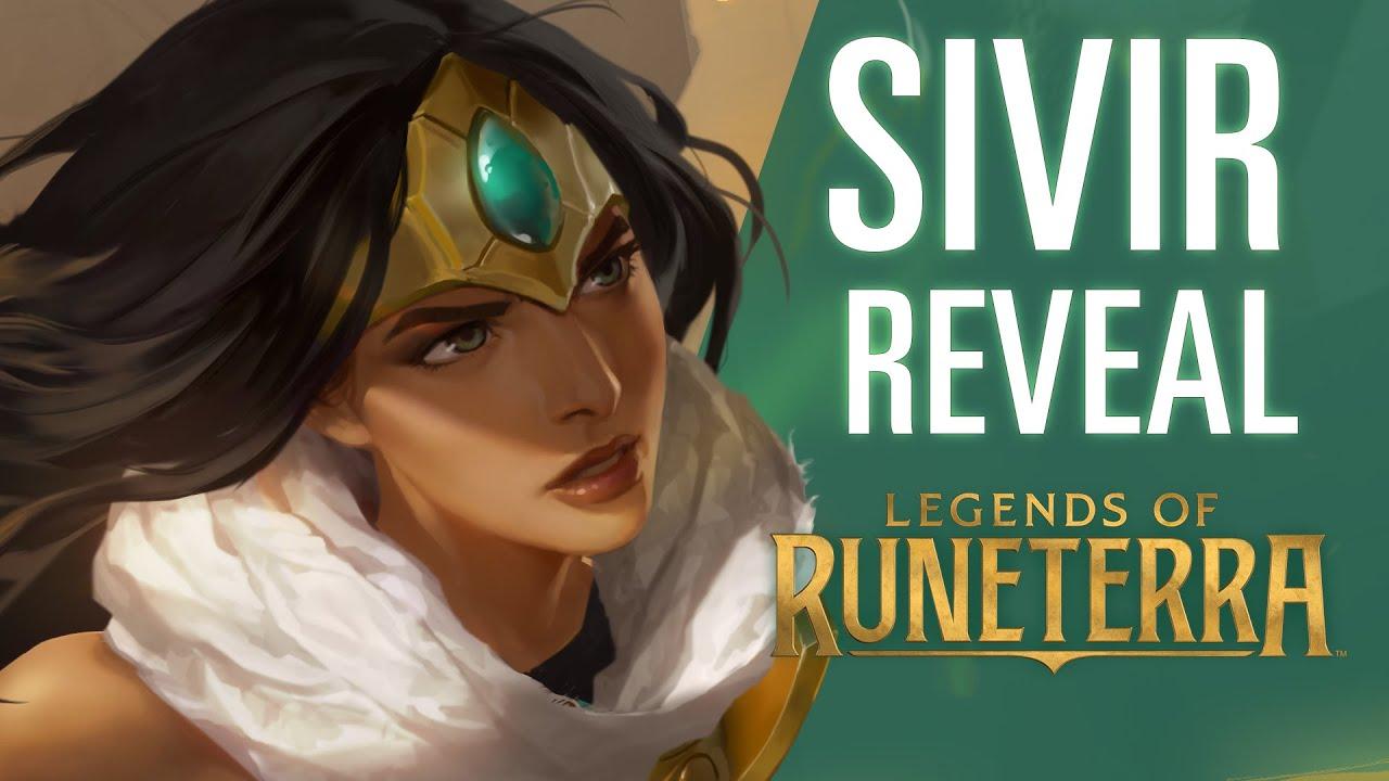 Sivir Reveal | New Champion - Legends of Runeterra
